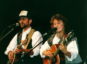 GF beim Country Circle Award in Sinsheim 1993
